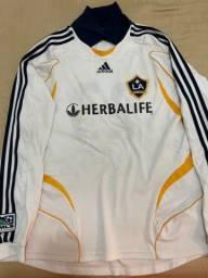 Camisa adidas Los Angeles galaxy ( Beckham )