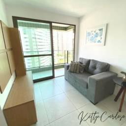 2 quartos Mobiliado com Varanda | Boa Viagem | Oportunidade