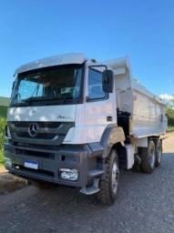 Título do anúncio: Caminhão Mercedes-benz Axor 4144 Caçamba