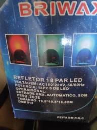 Refletor 18 par led