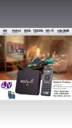 Sua TV com tudo que você precisa