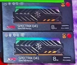 Memória XPG D41 Spectrix TUF DDR4 2x8gb 3000mhz