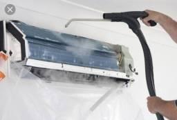 Higienização de ar condicionado Split R$150,00
