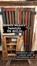 ARMÁRIO MADEIRA DEMOLIÇÃO