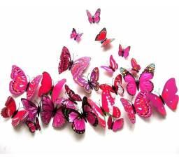 Título do anúncio: Borboletas Coloridas Artificiais Ímã Geladeira Decorativo