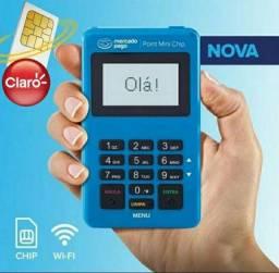 Maquininha de cartão com chip e Wi-Fi