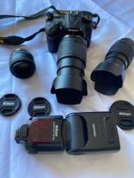 Camera Nikon 7200 Profissional praticamente nova