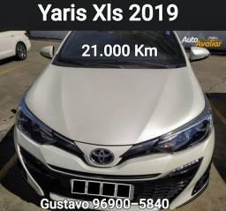Título do anúncio: Yaris 2019 Xls 21 mil km Oportunidade Gustavo Taika