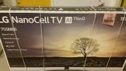 "TV Lg 75SM8610PLA 75"" leve 4K"