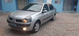 Clio sedan 2005 privilege 1.6 completo