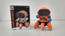 Robô de brinquedo genext que anda de verdade