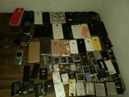 Diversos modelosq de celulares
