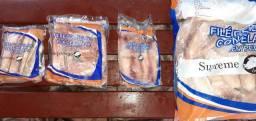 Filé de TILAPIA congelando