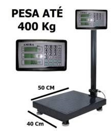 Balança digital plataforma 400kg nova na cx com garantia entrego em Curitiba e região