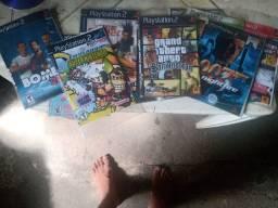 Vendo jogos de play 2