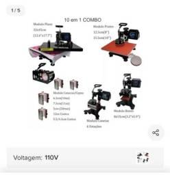 Vendo prensa Termica 10x1 com impressora  Epson
