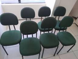 Conjunto com 7 cadeiras