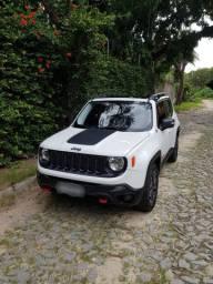 Jeep Renegade Trailhawk 2.0 turbo diesel 4x4 particular, revisado na jeep, automático mais