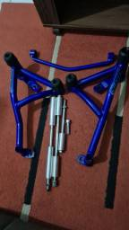 Protetor De Motor Stunt Cage Yamaha Lander 250 Lander X<br><br>