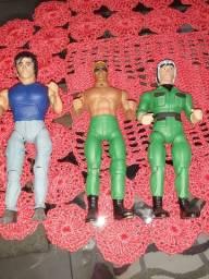 3 personagens rambo custon
