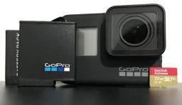 Kit. Câmera Digital Gopro Hero 7 Black 4k Usada 3 vezes