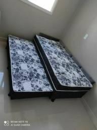 Cama auxiliar solteiro 399 entrega gratis
