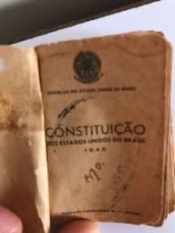 Mini Constituição de bolso