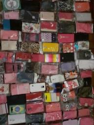 Lote de capinhas de celular