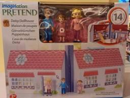 Playset e Mini Figuras - Casa de Bonecas da Daisy - Imaginarium - New Toys