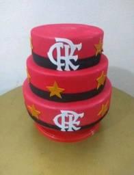 Bolo Fake do Flamengo