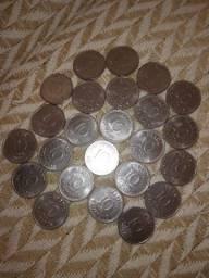 vendo 10 moedas de cruzeiro