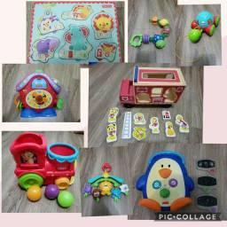 8 Brinquedos Fisher Price perfeito estado