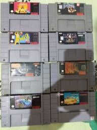 Cartuchos super Nintendo