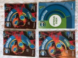Livros usados de biologia para ensino médio Amabis Martho