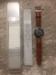 Relógio Swatch Irony Pulseira em Couro