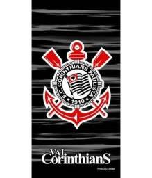 Toalha De Banho Time Aveludada Corinthians Oficial #1