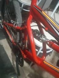 Bike aro 26 linda e nova