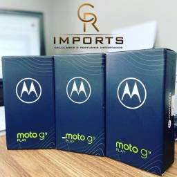Moto G9 play 64Gb Lacrado azul Safira com NF