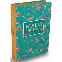 Bíblia Sagrada Nvi Leitura Perfeita - Capa Flores Letra Grande
