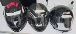 Capacete moto semi novos