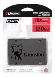 SSD Kingston A400, 120GB, SATA, Leitura 500MB/s, Gravação 320MB/s - Loja Natan Abreu