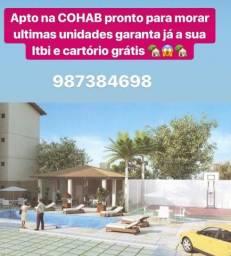 Apartamento pronto para morar no Coração da Cohab Itbi e Cartório Grátis