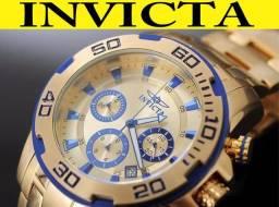 c6a6e7050cb Relógio Invicta 22320 Ouro 18K 100% Original Garantia