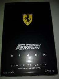 Perfume Original Ferrari Black 125ml R$ 119,00 ou 03 X Sem Juros no Cartão Em Rondonópolis