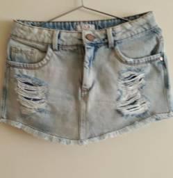 Shorts saia novo