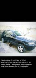 Vendo Celta 02/02 sem motor - 2002