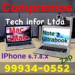 Notebook !!! iMac !!! MacBook !!! IPhone 6-7-8-X- Xs max quebrado.