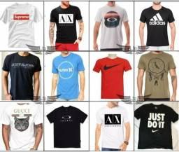 Camisetas no atacado (promoção) kit-c  10 fed5bca10dc5c