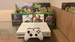 Xbox One S com jogos