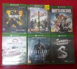 Lote de Jogos de Xbox One 6un